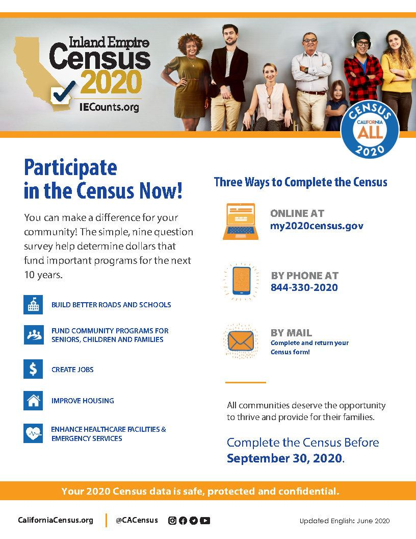 CA-IE Census Flyers English