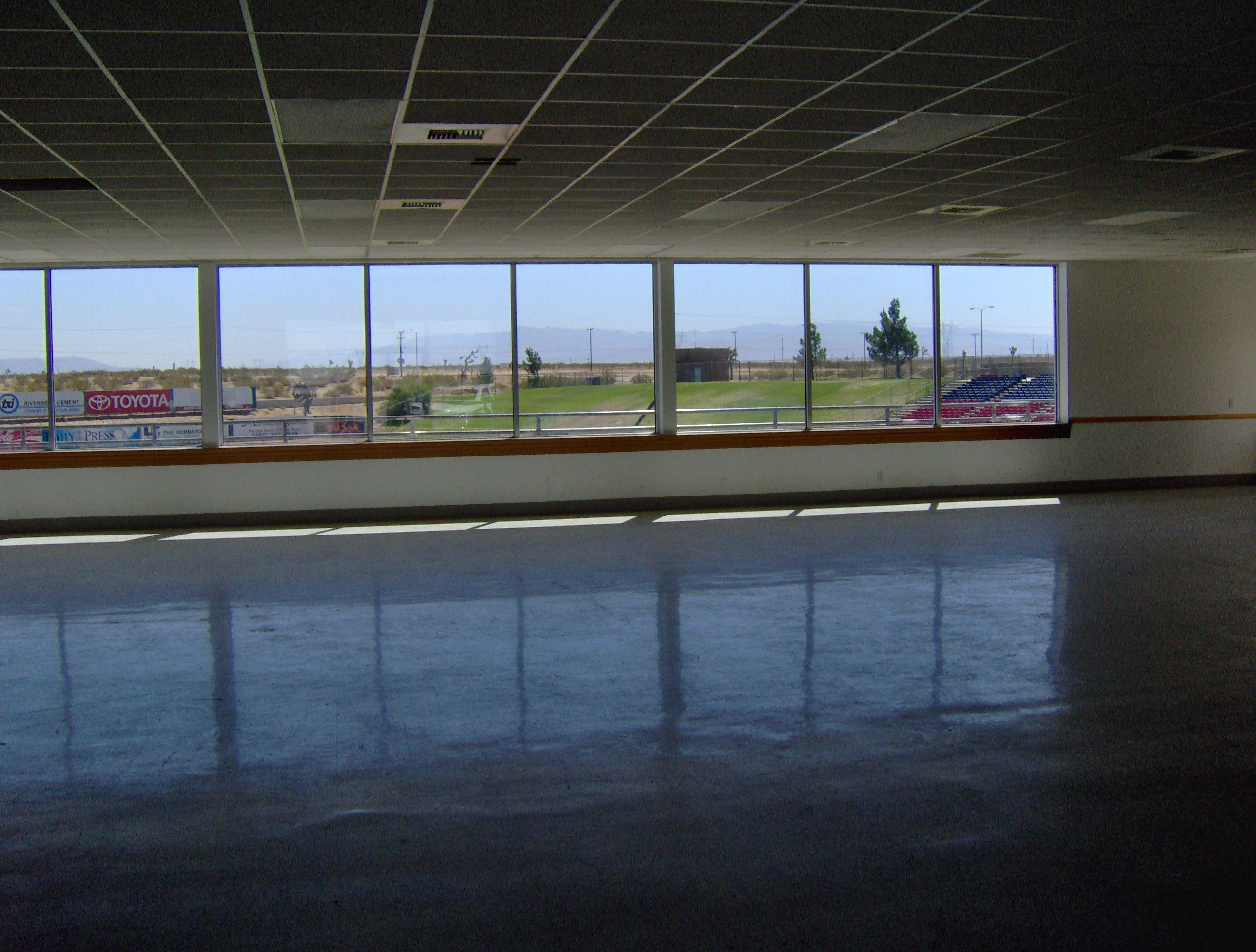 Interior of Mavericks Conference Room